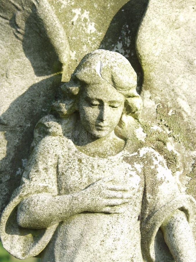 Escultura do anjo imagem de stock royalty free