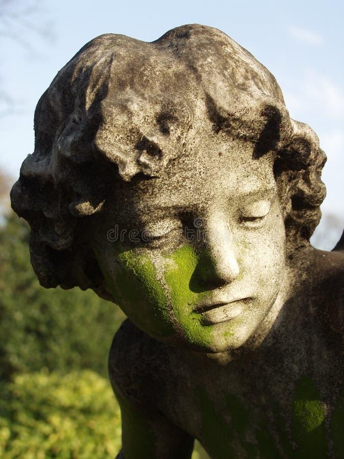 Escultura do anjo fotos de stock