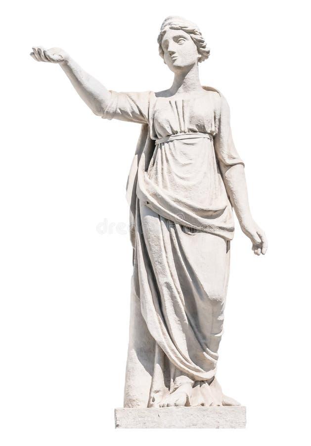 Escultura do deus Latona do grego clássico imagens de stock