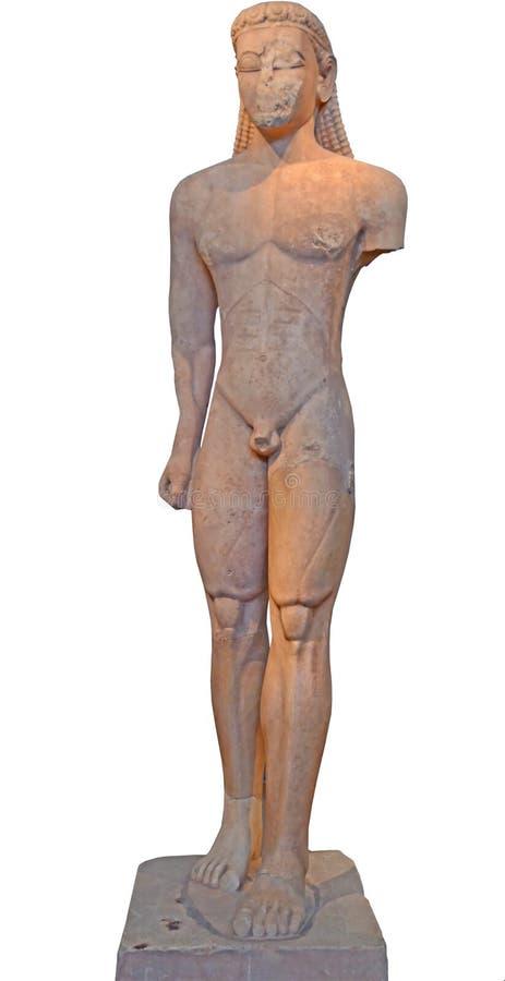Escultura do grego clássico imagens de stock