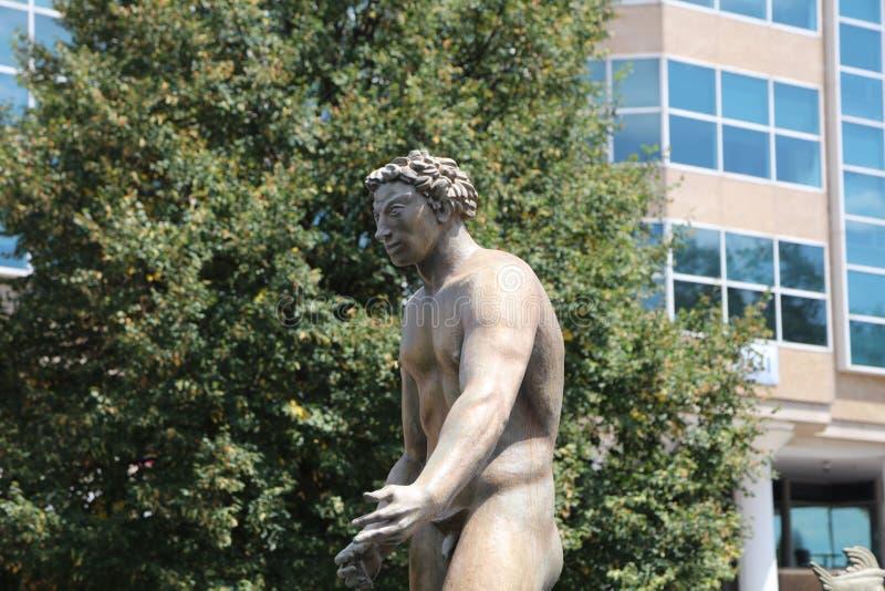 Escultura do grego do Nude imagem de stock