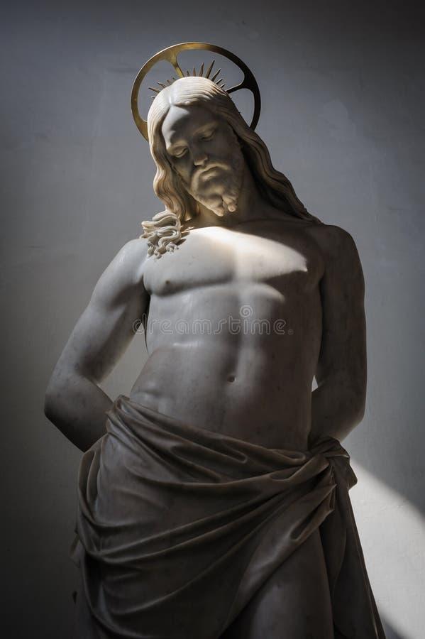 Escultura do Jesus Cristo imagem de stock royalty free