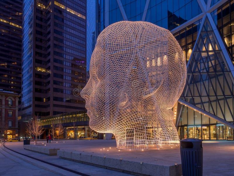 Escultura do país das maravilhas, Calgary