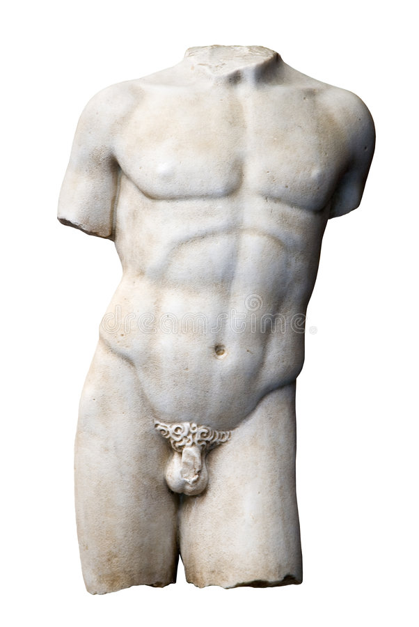 Escultura do torso imagem de stock royalty free