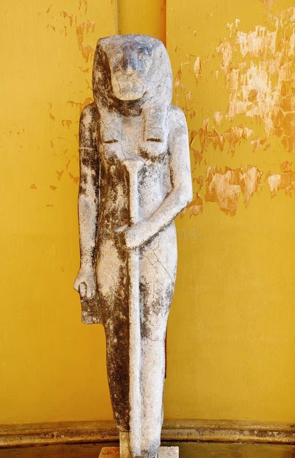 Escultura egípcia antiga fotos de stock
