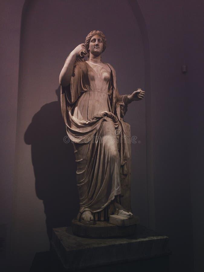 Escultura en el museo imagen de archivo