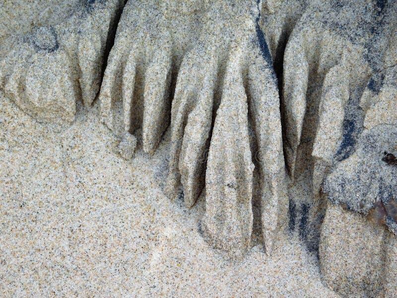 Escultura en Sandy Cove imagenes de archivo
