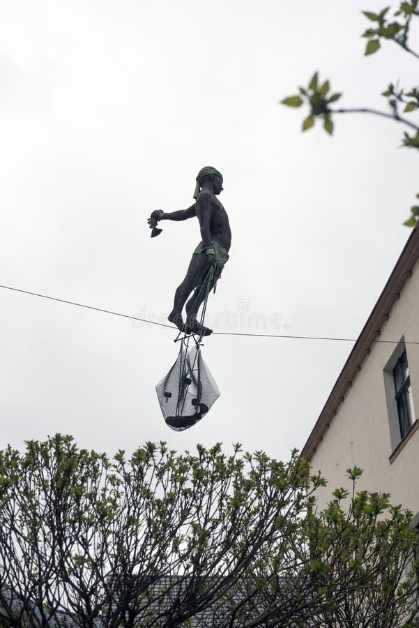 Escultura Gdansk polonês imagens de stock
