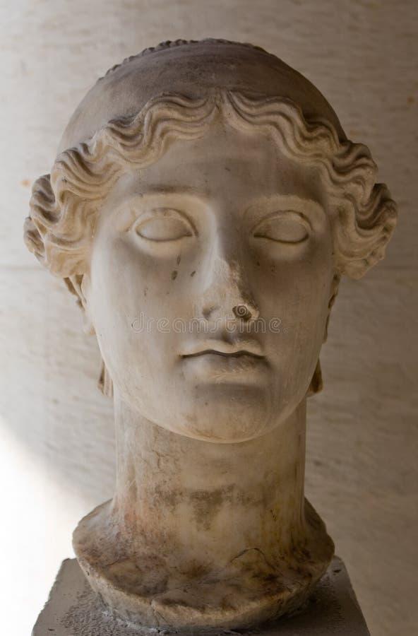 Escultura grega, Atenas imagens de stock royalty free