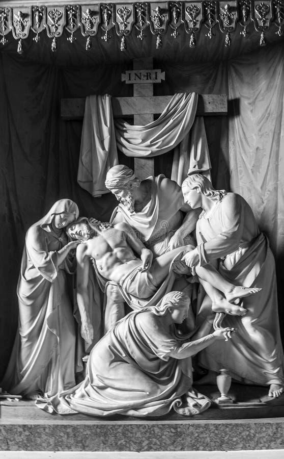 Escultura italia fotografia de stock