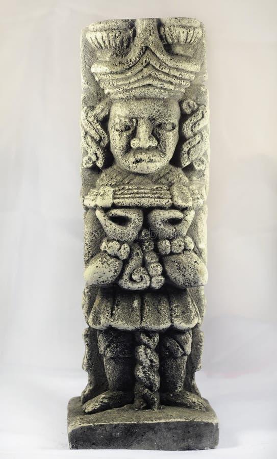 Escultura maia antiga foto de stock royalty free
