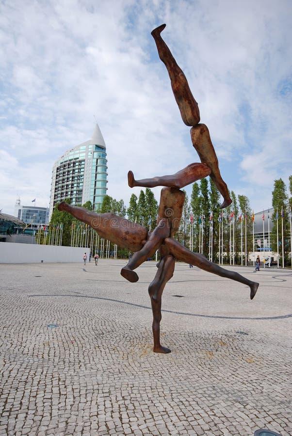 Download Escultura Moderna, Lisboa, Portugal Foto editorial - Imagen de cuadrado, monumento: 42425101