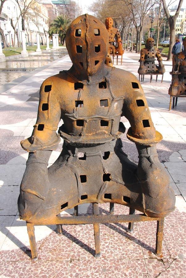 Download Escultura Monumental, Madrid Stock Image - Image of free, horizontal: 22220483