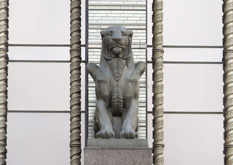 A escultura na rua, kazan, Federação Russa imagem de stock royalty free
