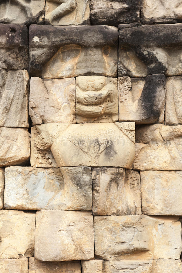 Escultura no rei Terrace do leproso imagem de stock royalty free