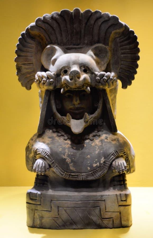 Escultura Oaxaca México de Zapotec fotografía de archivo