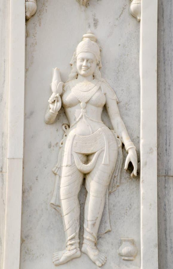 Relevo de Bas, templo Hindu, Hyderabad imagem de stock royalty free