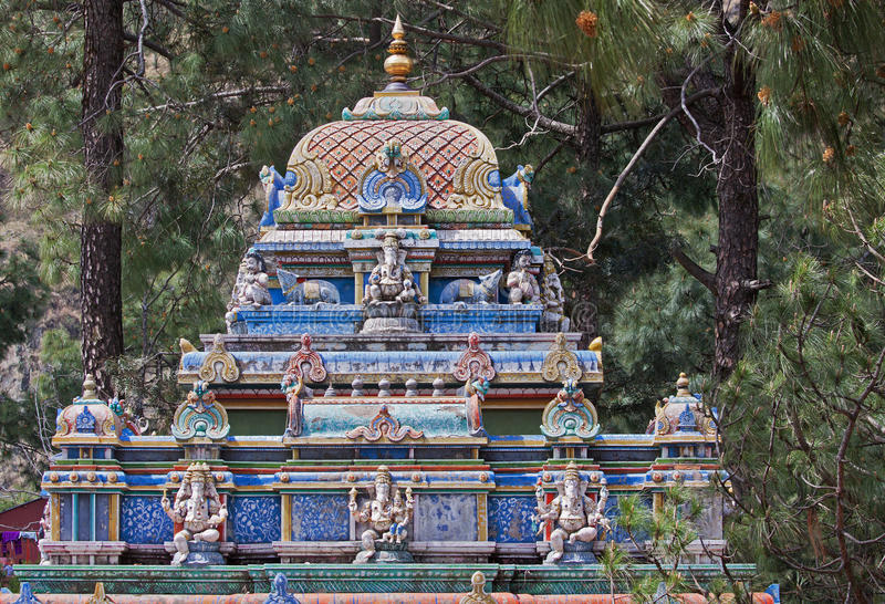 Escultura que honra Hanuman, deus hindu do macaco fotos de stock royalty free