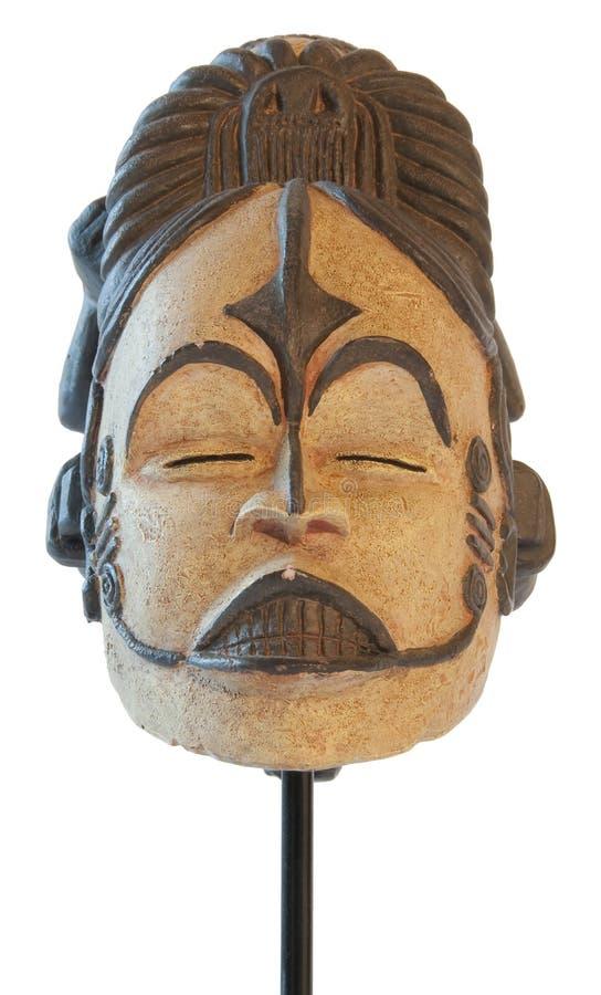 Escultura tradicional africana do símbolo de maternidade imagens de stock royalty free