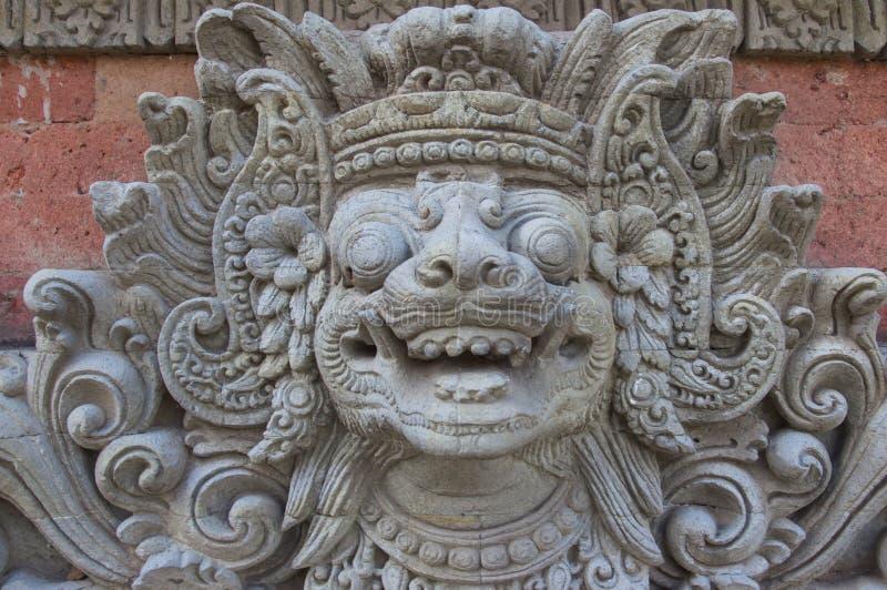 Escultura tradicional do Bali fotografia de stock royalty free