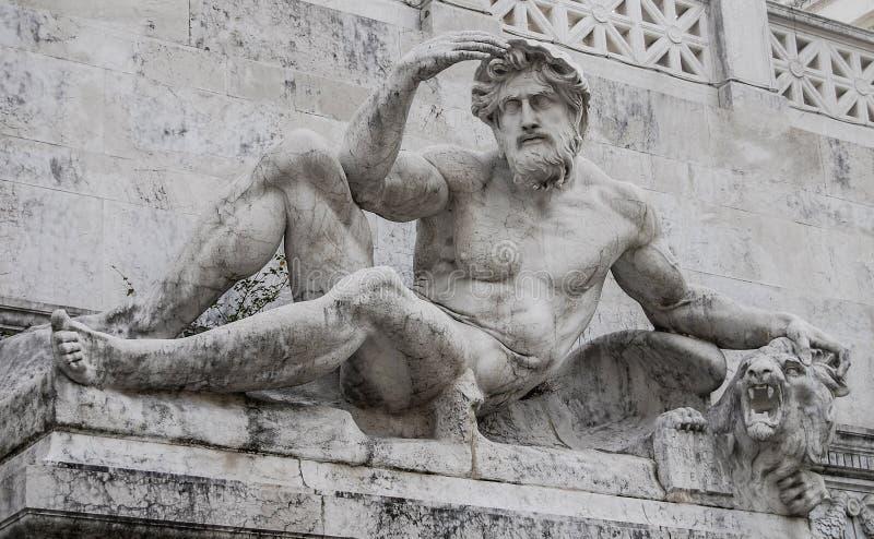 Esculturas de Roma, Itália imagens de stock