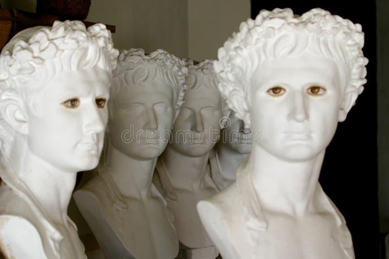 Esculturas griegas fotos de archivo