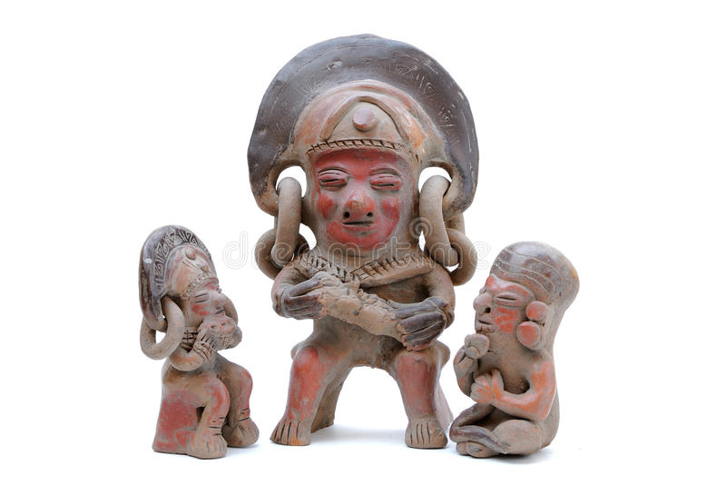 Esculturas Incan fotografia de stock