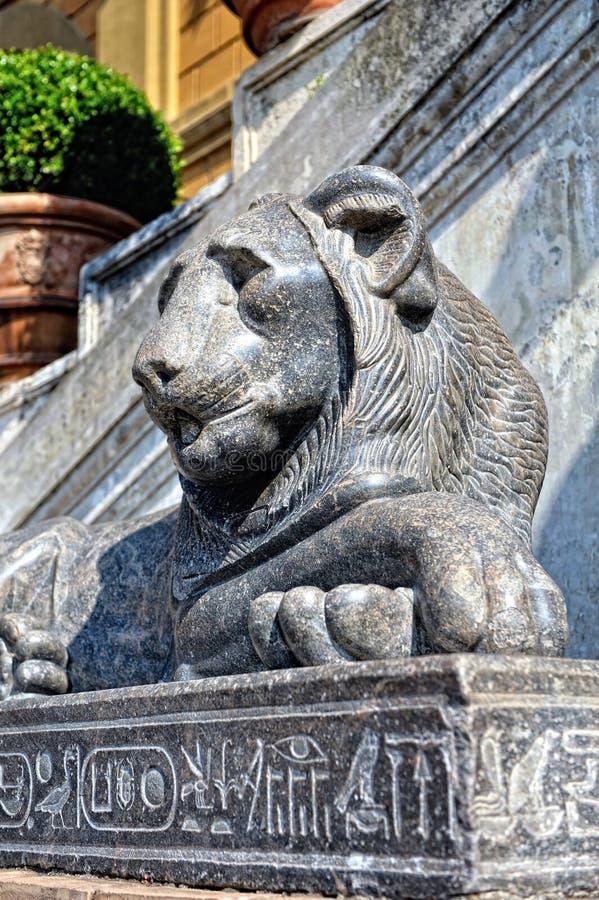 Esculturas no museu de Vatican. foto de stock