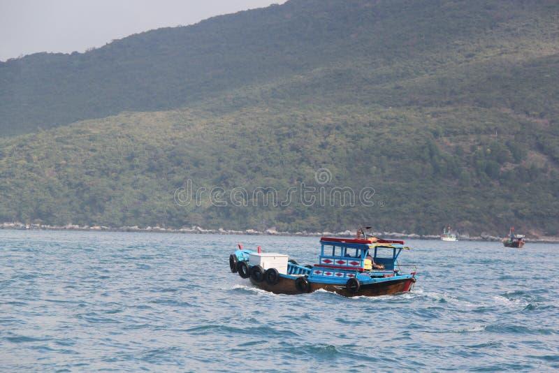 Escuna da pesca fotografia de stock royalty free