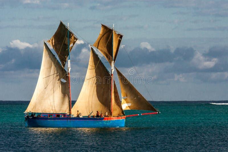 Escuna malgaxe fotografia de stock