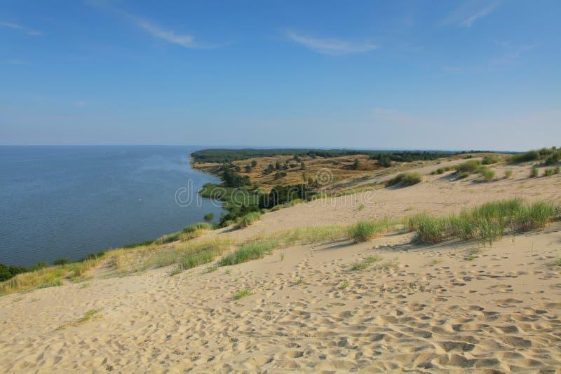 Escupitajo de Curonian fotos de archivo libres de regalías
