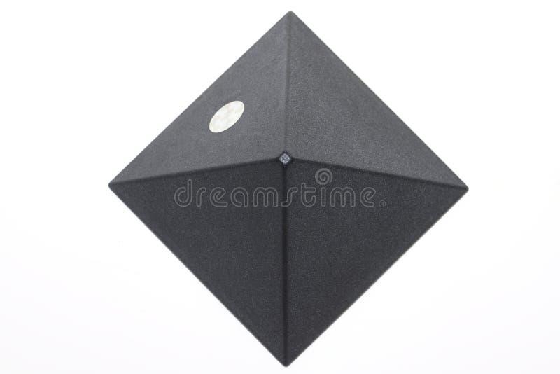 Escureça o piramid fotos de stock royalty free