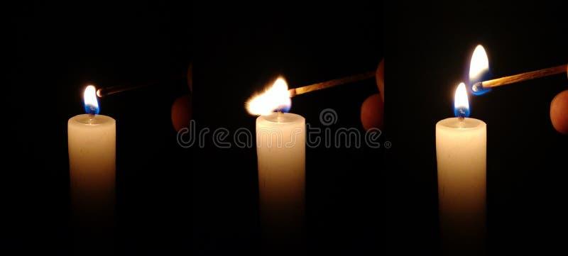 Escuridão e luz foto de stock royalty free