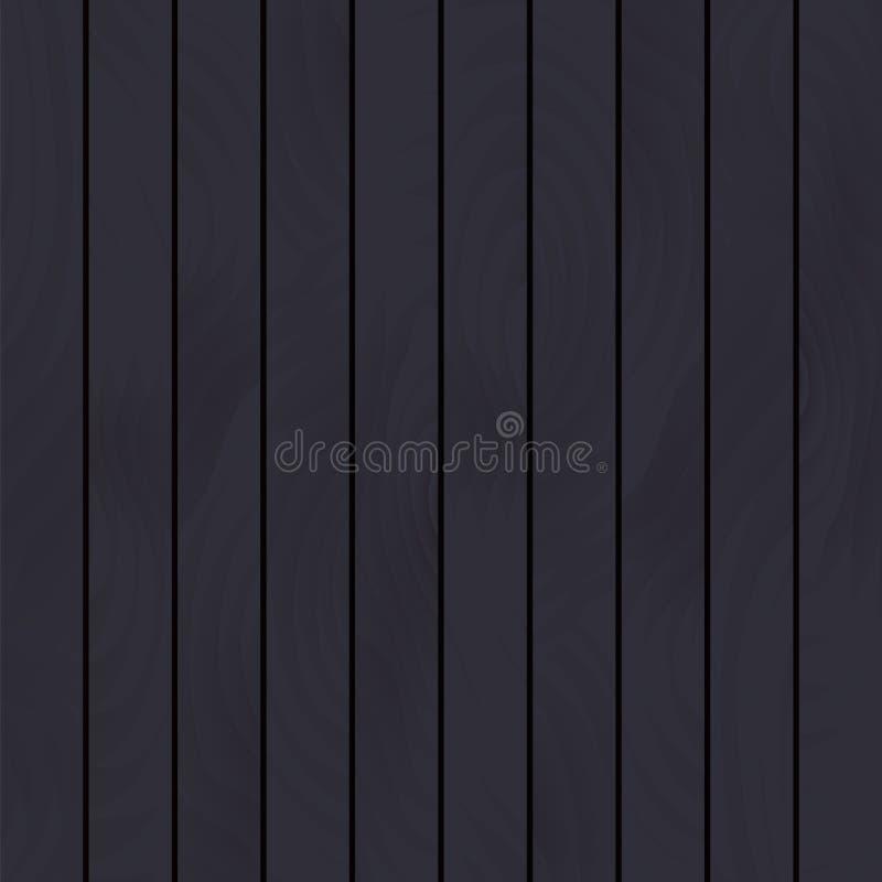 Escuro - assoalho de madeira cinzento ilustração stock