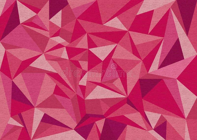 Escuro e claro - montes cor-de-rosa fotografia de stock