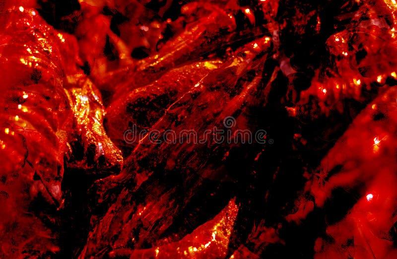 Escuro - fundo abstrato vermelho imagem de stock royalty free