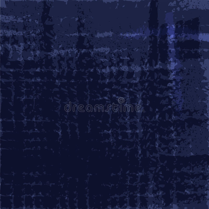 Escuro - fundo azul imagens de stock