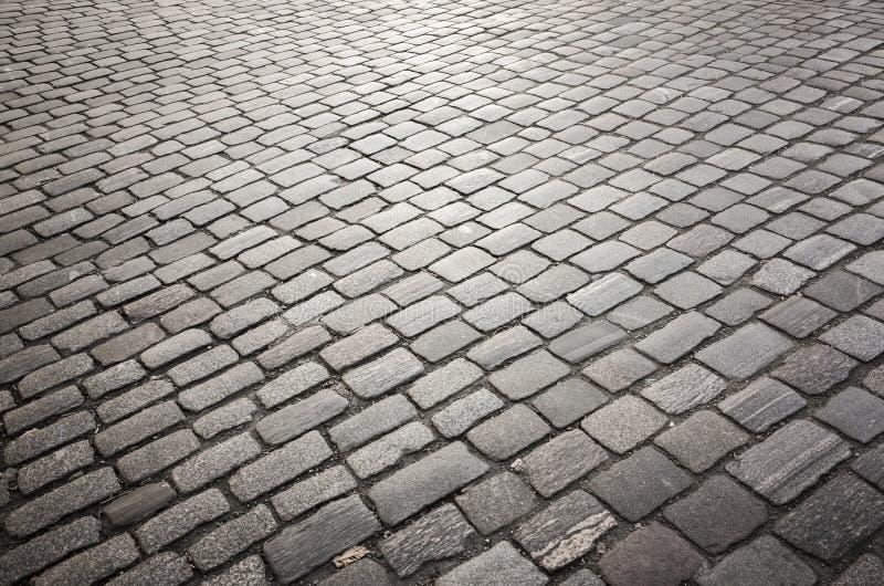 Escuro - fundo cinzento da estrada do godo fotografia de stock royalty free