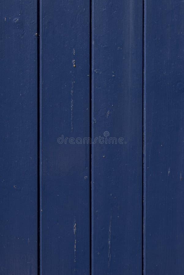 Escuro - fundo de madeira azul foto de stock