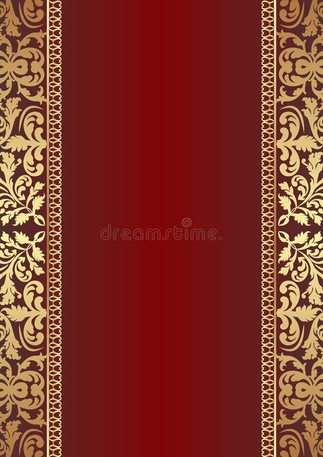 Escuro - Fundo Vermelho Imagem de Stock Royalty Free