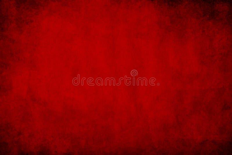 Escuro - fundo vermelho do grunge imagem de stock