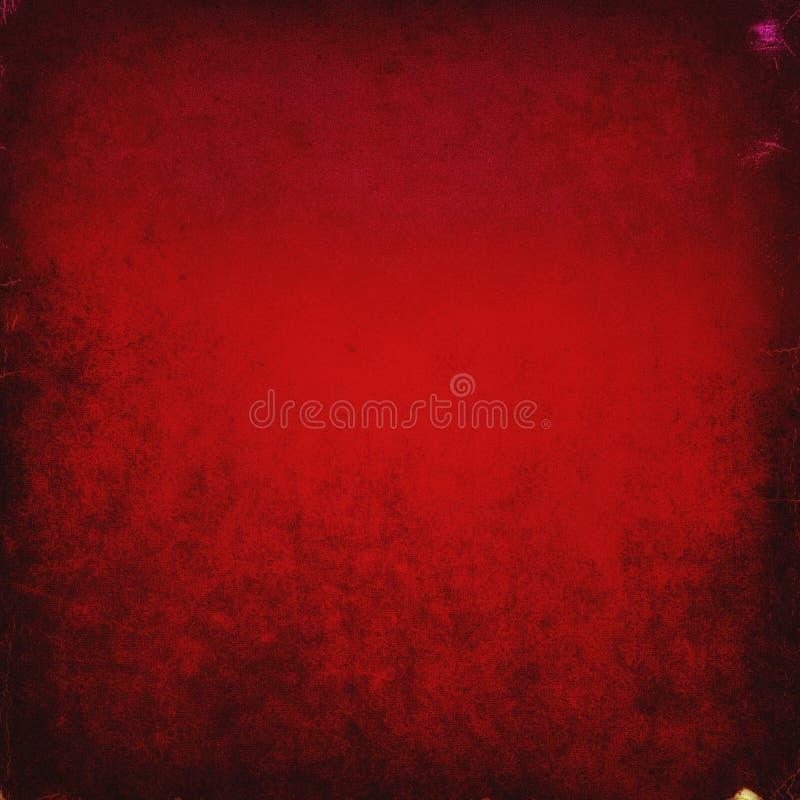 Escuro - fundo vermelho do grunge, textura áspera, lona, papel, vintag ilustração royalty free