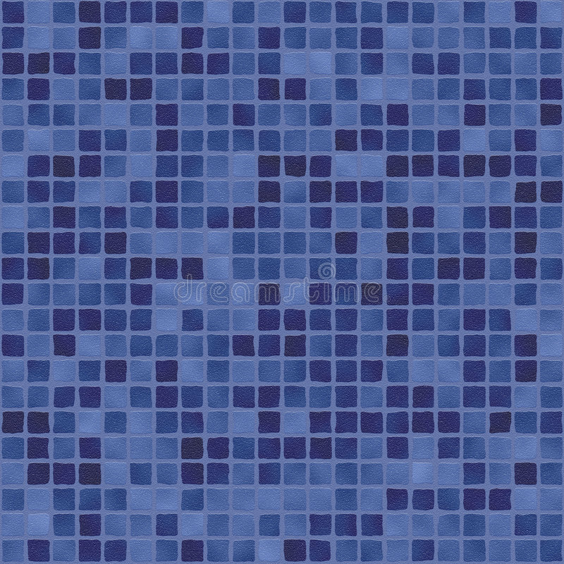 Escuro - mosaico roxo azul ilustração stock