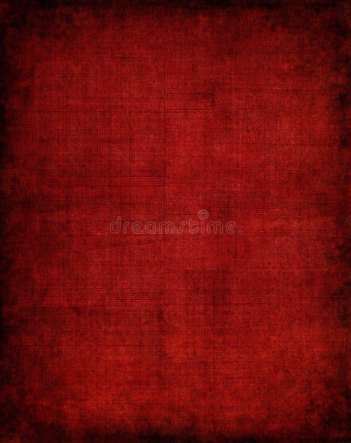 Escuro - pano vermelho ilustração do vetor