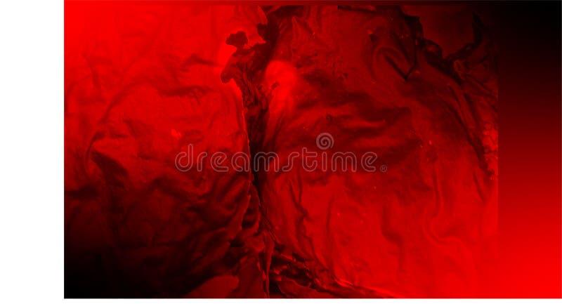 Escuro - papel de parede velho vermelho do fundo da textura do sumário do Grunge ilustração royalty free