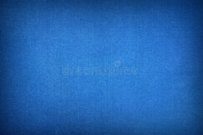 Escuro - textura azul da lona fotografia de stock royalty free