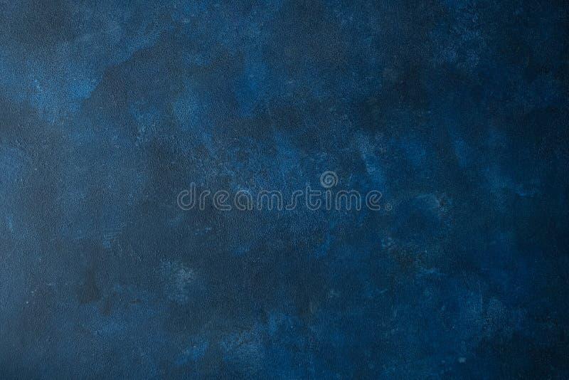 Escuro - textura azul do fundo para o Web site fotografia de stock