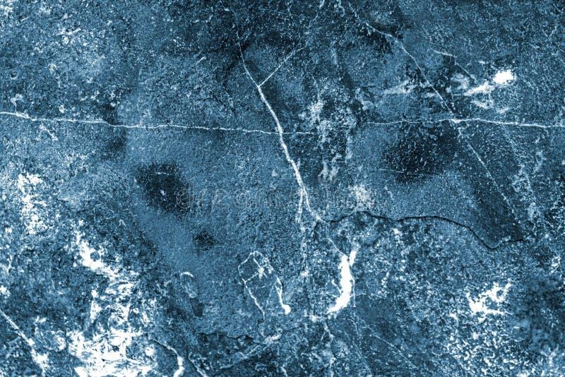 Escuro - textura azul do granito fotos de stock royalty free