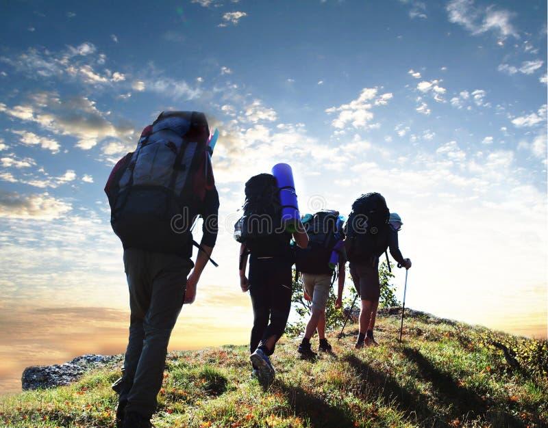 Escursione fotografia stock