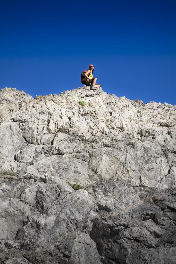 Escursione immagine stock